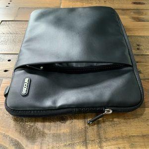 "INCASE Black Faux Leather 13"" laptop sleeve"